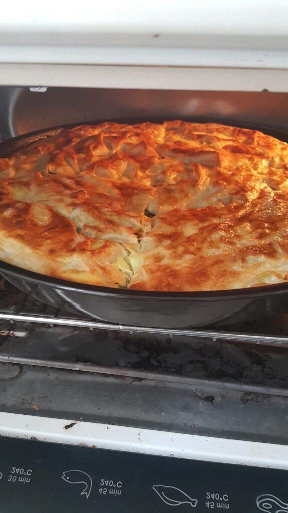 Kvasna pita sa sirom